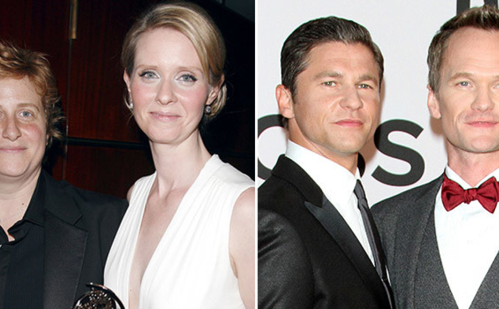 Известные гомосексуальные пары 2012