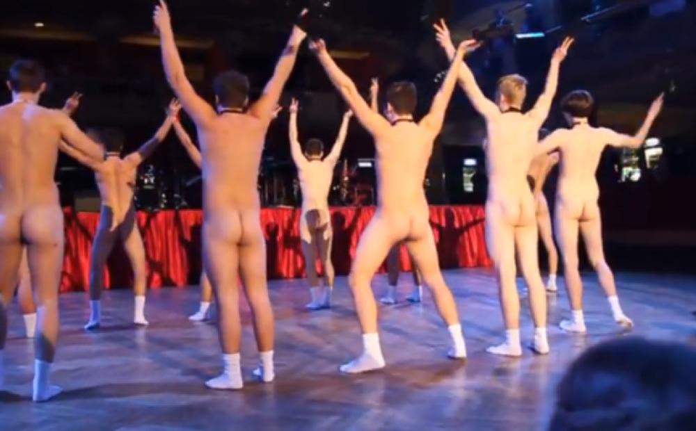 Японские мальчики голые танцующие