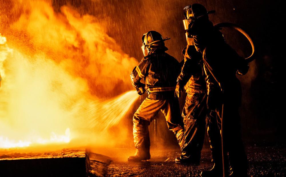 Фон для открытки пожарная охрана, картинки добрым утром