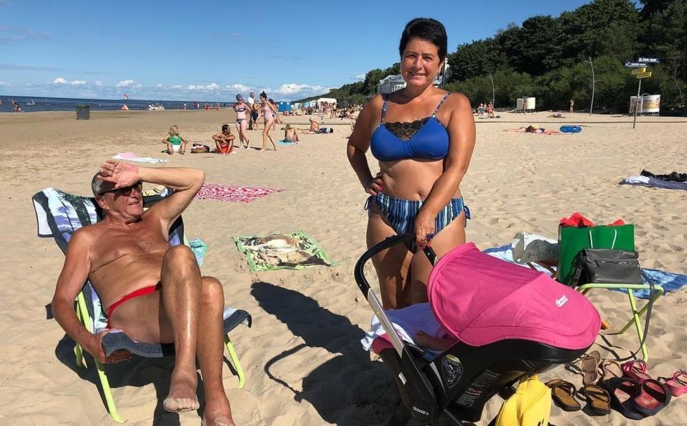 с женой фото на пляже очень нравится менять