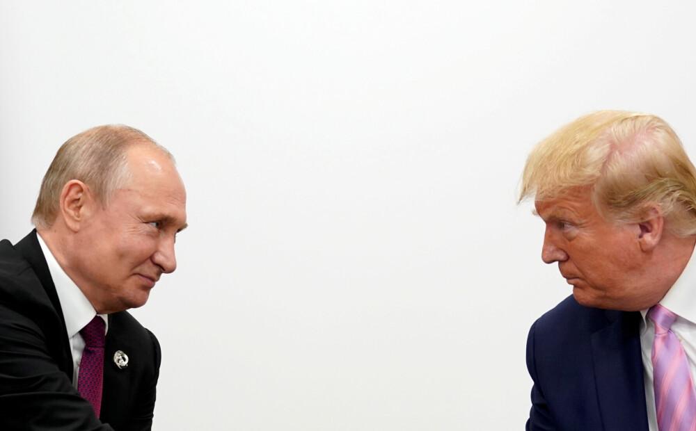 Tramps un Putins apsprieduši sadarbību cīņā ar koronavīrusu