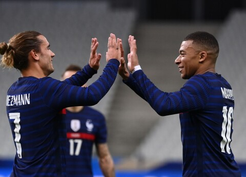 Francijas futbola izlase