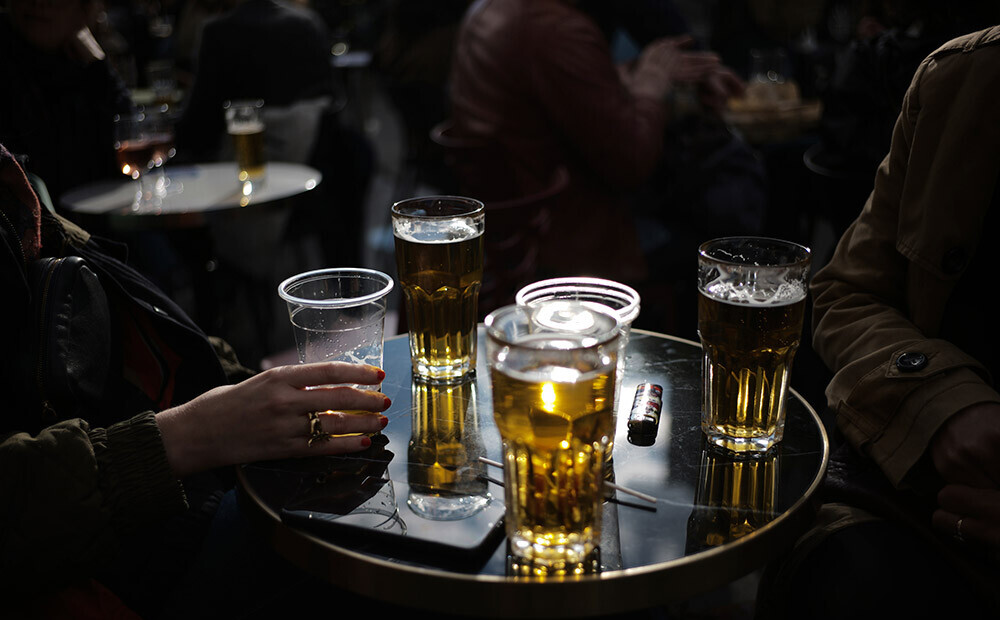 How has alcohol consumption changed in Latvia since the beginning of the pandemic?